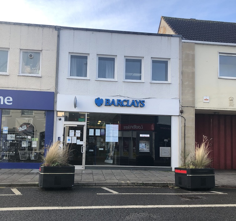 Barclays to shut in Keynsham High Street