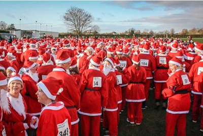Saltford's Santas will be setting off again to raise funds for two charities