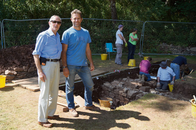 Archaeologist hopes to unearth secrets of Roman ruins at Keynsham Cemetery
