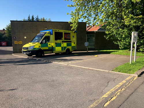 PETITIONS have been launched to save Keynsham ambulance station, which could close as part of a review aimed at improving the South Western Ambulance Service's performance.