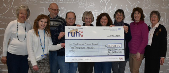 Forever Friends' £10,000 for cancer care campaign