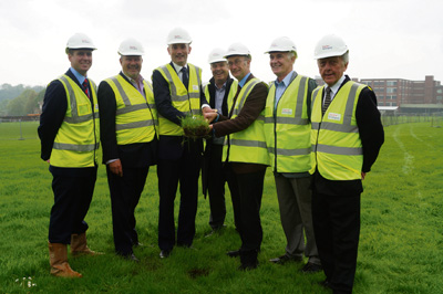First turf cut at Somerdale to mark start of 700-home development