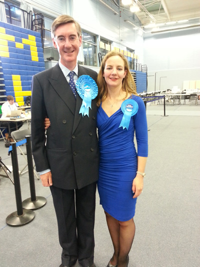 Conservative Jacob Rees-Mogg holds onto North East Somerset with 13,000 majority