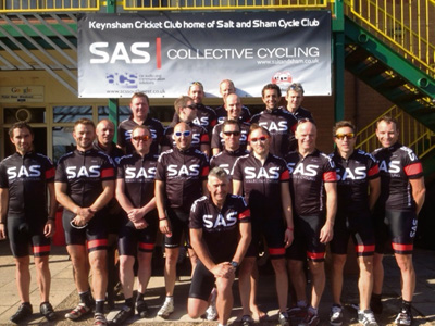 Growing Saltford and Keynsham cycle club unveils its distinctive new kit