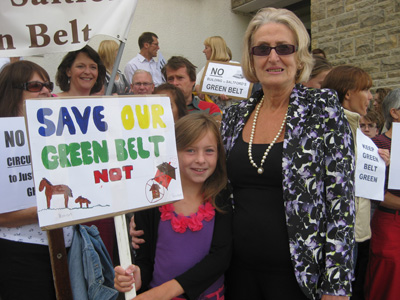 'Victory' as Saltford green-belt homes are rejected by government minister