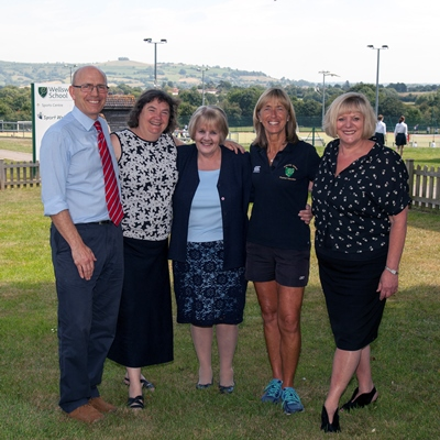 Five long-serving teachers bow out after 144 years at Wellsway School!