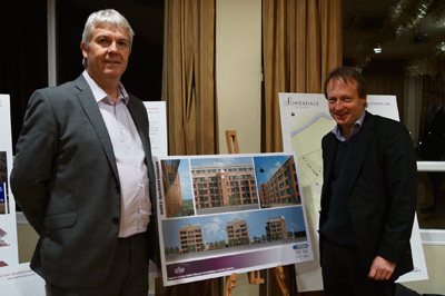 Developer unveils care home and flats plan for Keynsham's former chocolate factory