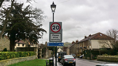 Saltford residents urged to speak out on 20mph speed limit