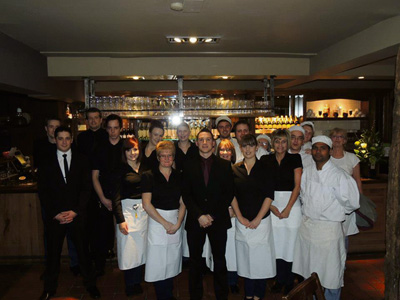 Staff at the Brassmill