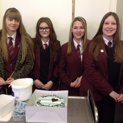 Broadlands Academy students in Keynsham mark Holocaust Memorial Day 2016