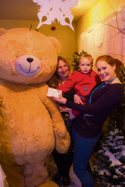 Nursery's festive fun raises £2,000