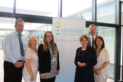 PCC visits Keynsham Police Centre to see new victim support services in action