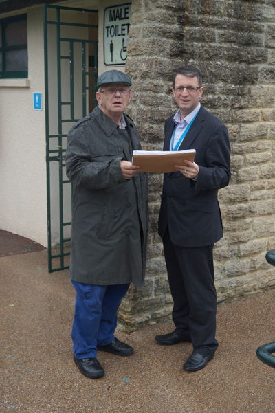 Hundreds sign petition protesting at cuts to Keynsham Memorial Park toilets