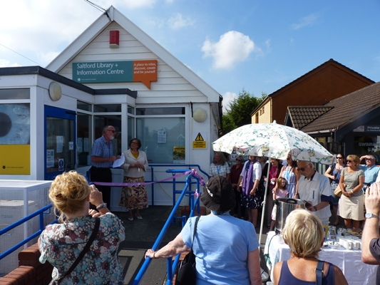 Official start of new chapter for Saltford Library