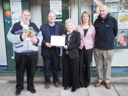 Residents' support helps town keep its Fairtrade status