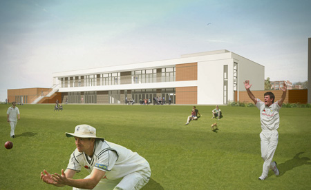 Artist's impression of proposed Fry Club