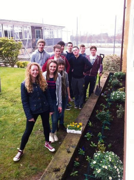 Wellsway pupils' Action Day
