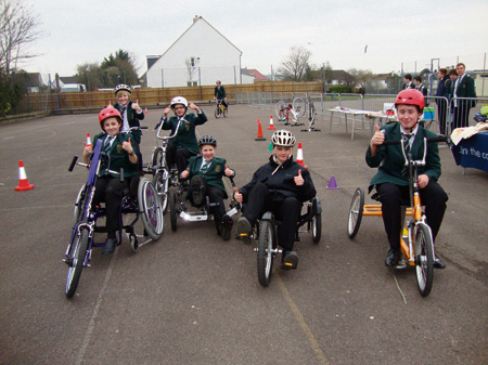 Pupils lead the way on Active Travel