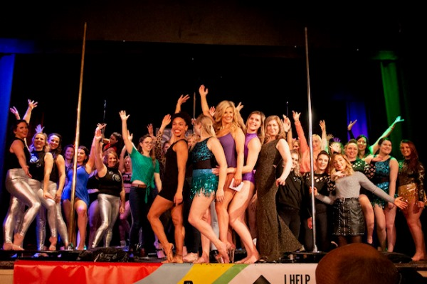 Keynsham pole fitness class members show off their skills at dazzling charity show