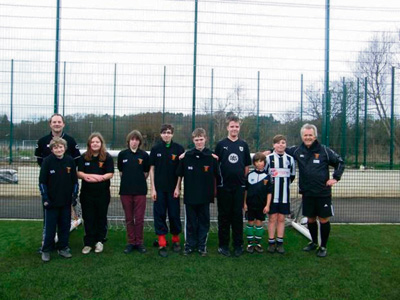 Club hopes to see more youngsters join Saturday football sessions