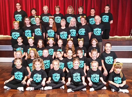 Keynsham dancers' perfect timing for charity 'tapathon'