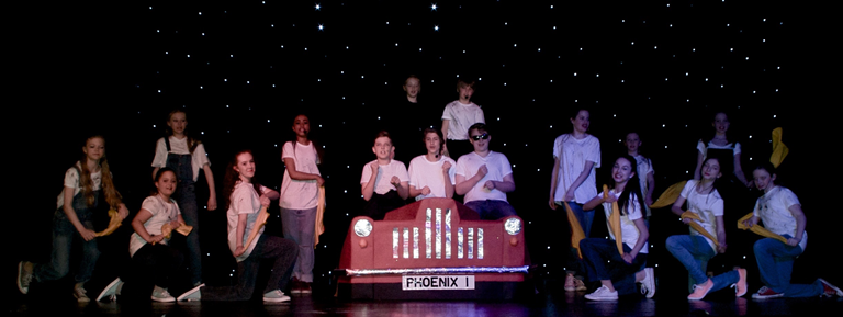 Young stars from Phoenix Keynsham Youth Theatre perform best of West End