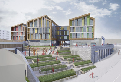 Artist's impression of Keynsham regeneration