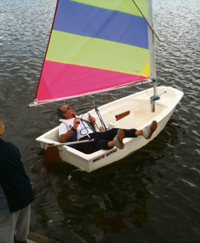 Winter on the water for Saltford sailing club