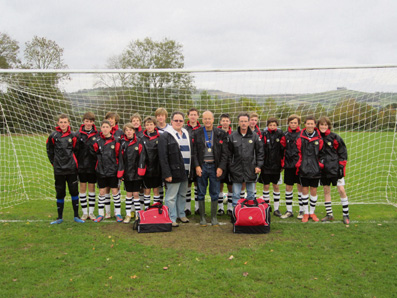 Saltford youngsters kitted out for new season