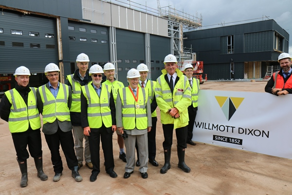 Work on new fire station at Hicks Gate reaches halfway point - but Keynsham HQ 'up in air'