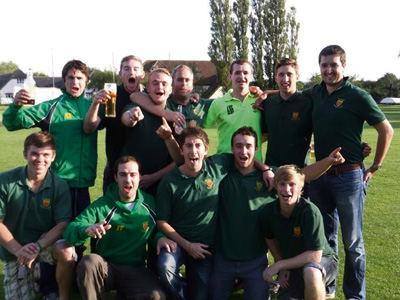 Promotion is cause to celebrate for Keynsham Cricket Club