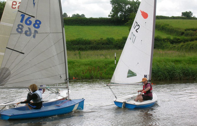 Thrills and spills as sailors go the distance in race