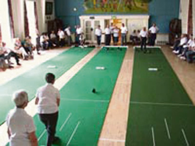 Short mat bowlers host open sessions to find new recruits