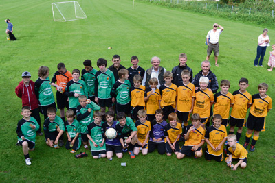 Funding buys first kit for youngsters' team