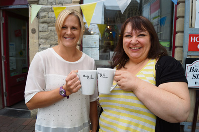 Keynsham cafe's team effort sees charity receive £2,259