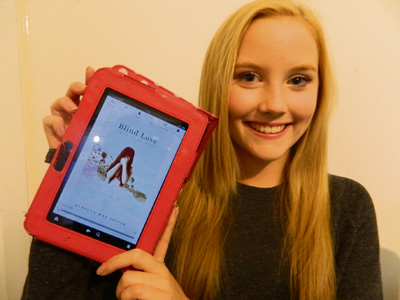 Young author Rebecca hopes new book is just start of the story