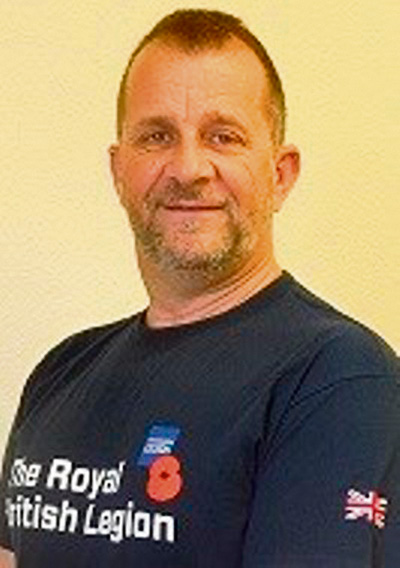 Andy's going to great lengths for Royal British Legion